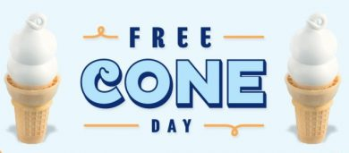 Free Cone Day!