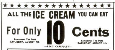 10 Cent All-You-Can-Eat Sale - August 4th From 8-9:30 PM