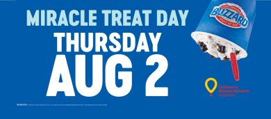 Miracle Treat Day - Aug. 2nd