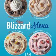 New Fall Blizzard Menu